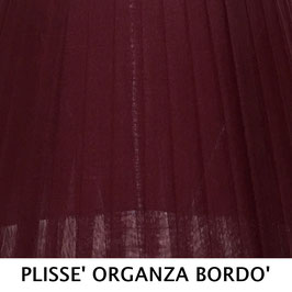 IMPERO PLISSE' ORGANZA BORDO' SENZA PASSAMANERIA