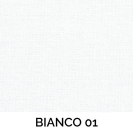 LAMPADARIO CILINDRO SEMPLICE COTONE BIANCO
