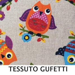 LAMPADARIO MARTE TESSUTO GUFETTI