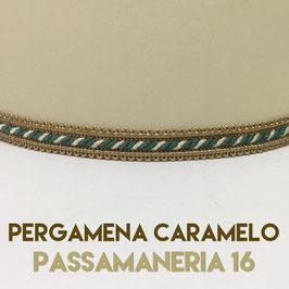IMPERO PERGAMENA CARAMELO PASSAMANERIA 16
