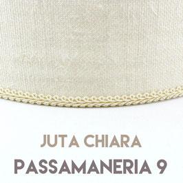 VENTOLA SAGOMATA JUTA CHIARA PASSAMANERIA 9