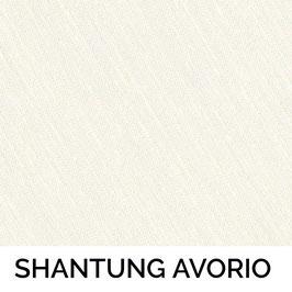 CONO PVC SENZA PASSAMANERIA SHANTUNG AVORIO 13