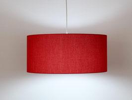 Lampadario Cilindro Rosso