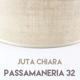 VENTOLA SAGOMATA JUTA CHIARA PASSAMANERIA 32