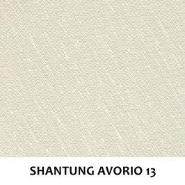 LAMPADARIO GIOVE SHANTUNG AVORIO 13