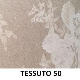LAMPADARIO CILINDRO SEMPLICE TESSUTO 50