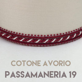 IMPERO PVC COTONE AVORIO CON PASSAMANERIA 19