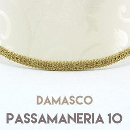 VENTOLA ANTIQUARIO TESSUTO DAMASCO CON PASSAMANERIA 10