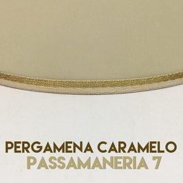 CONO PERGAMENA CARAMELO PASSAMANERIA 7
