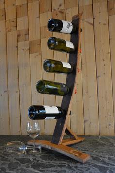 Weinflaschenhalter für 5 Flaschen