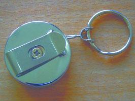 Anhänger mit ausziehbarer Kette (Metall)