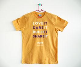 Love it. Dare it. Build it. Share it.
