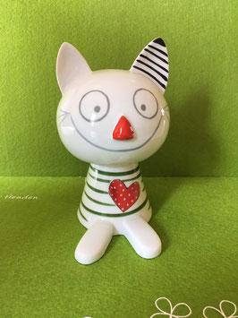 """Katzi stehend """"sortiert"""" Farbton kann abweichen"""