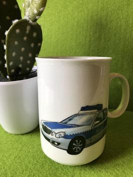 "Becher Boby 0,2l ""Polizei"""