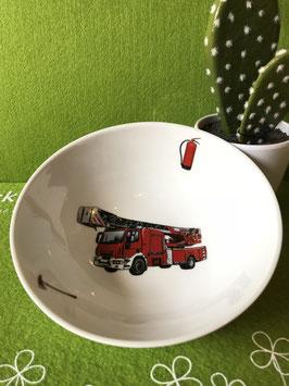 """Schale flach 19 cm """"Feuerwehr"""""""