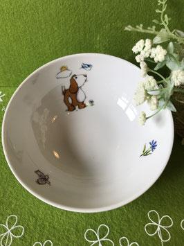 "Müsli-Schüssel 14 cm ""Lustige Tiere, Hund"""