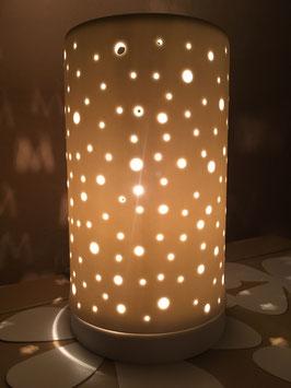 """Zylinderlampe """"Leuchtpunkte"""""""