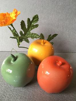 Bunte Dekoäpfel