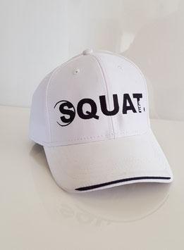 Squat. Baseball Cap weiss