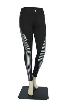 Squat. Leggings tight mit Reflex-streifen
