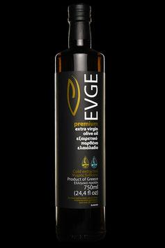 Evge Premium extra virgin olive oil à 750ml