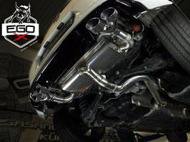 """3"""" Klappenabgasanlage ohne EWG ab Kat für VW Golf 7 R Modelle"""