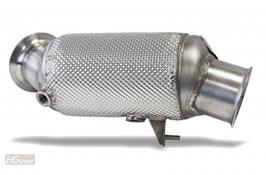 HJS EWG-Downpipe für BMW 1er+3er mit N55B30A Euro 5 Motoren