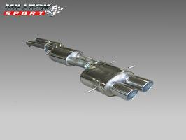 Audi RS4 B5 Milltek ECE Abgasanlage