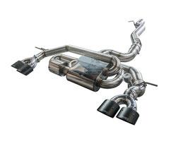 """3,5"""" Klappenabgasanlage mit EWG ab Kat für VW Golf 7 R Modelle"""