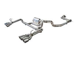 """3"""" Abgasanlage ab Kat mit EWG für Honda Civic Type R"""
