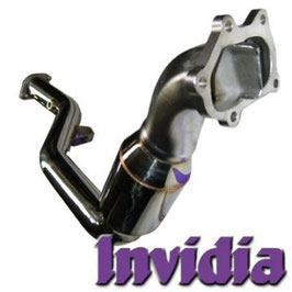Invidia Turbo Downpipe mit 200cpsi Kat - Impreza 00-07 WRX/STI
