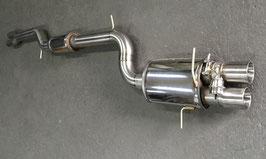 RS4/S4 B5 90mm Klappenabgasanlage ab Kat