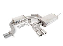 Scirocco GT 2.0T 200PS Milltek ECE Abgasanlage