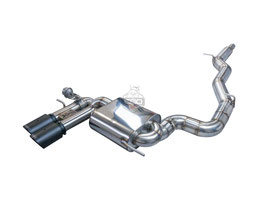 3,5 Zoll Abgasanlage ab Kat ohne EWG für Audi S3 8P/A3 3,2