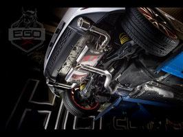 """EGO-X 3"""" Klappenabgasanlage ab Kat für VW Golf 7 Modelle inkl. GTI"""