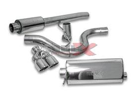 """3"""" Abgasanlage ab Kat für Ford Fiesta ST Mk.7 Modelle"""