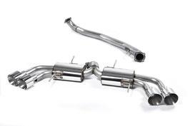 """Nissan GT-R R35 Milltek 3"""" ECE Abgasanlage"""