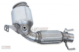 "BMW 2er Active Tourer 220i/225i 2,75""/70mm HJS Downpipe mit ECE"