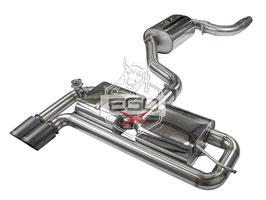 """EGO-X 3"""" Klappenabgasanlage ab Kat für VW Golf 5 Modelle inkl. GTI"""