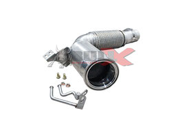 "2,75"" Downpipe Mini Cooper F56 Turbo 200 Zeller Sportkat"