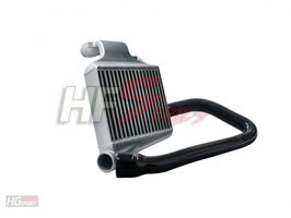 Ladeluftkühler Kit mit HFT Netz für Opel Astra G / Zafira A Turbo inkl. OPC