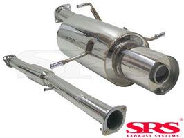 SRS Catback Exhaust - Impreza WRX/STI ab 02