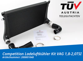 WAGNERTUNING  Competition Ladeluftkühler Kit VAG 1,8-2,0TSI mit Teilegutachten