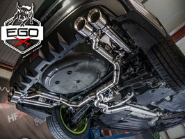 "3"" Klappenabgasanlage ab Kat für Subaru WRX STI"