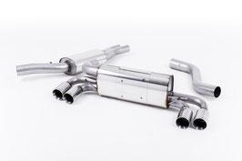 BMW 1er M-Coupe Milltek ECE Abgasanlage