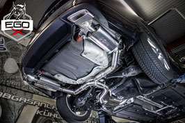 "3"" EWG Klappenabgasanlage ab Kat für Skoda Octavia 5E RS"