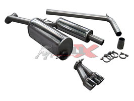 Abgasanlage ab Kat für VAG 1,2-1,4 TSI Modelle