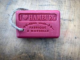 I LOVE HAMBURG (rot, 100g) an der Hamburger Schnur