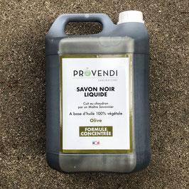 Schwarze Seife - Savon noir (5 Liter in der Kunststoffflasche)