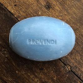 Provendi Seifenhalter (verchromt, Schraubverschluss) mit Lavendel-Seife  (300g)